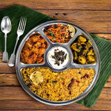Indian Thali Plate Dish