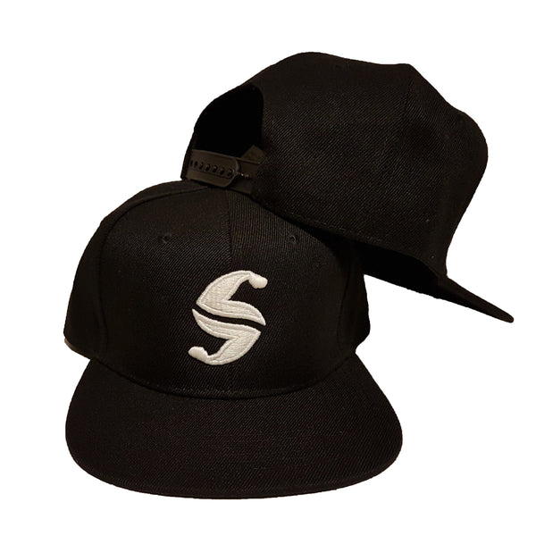 Classic Snap Back - Sweat Industry Apparel Black/White Front