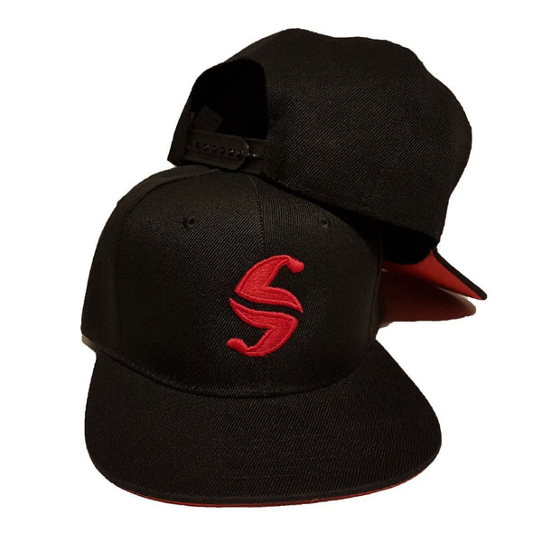 Classic Snap Back - Sweat Industry Apparel Black/Red Front