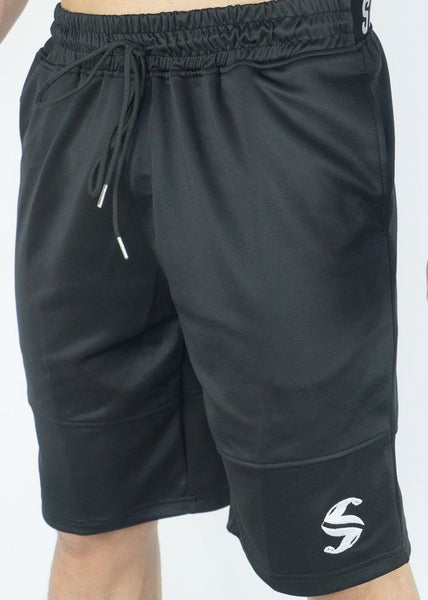 Cyclone Shorts - Sweat Industry Apparel Black Side