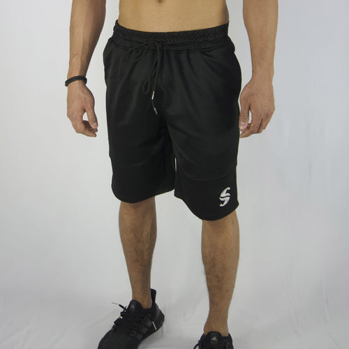 Cyclone Shorts - Sweat Industry Apparel Black Front