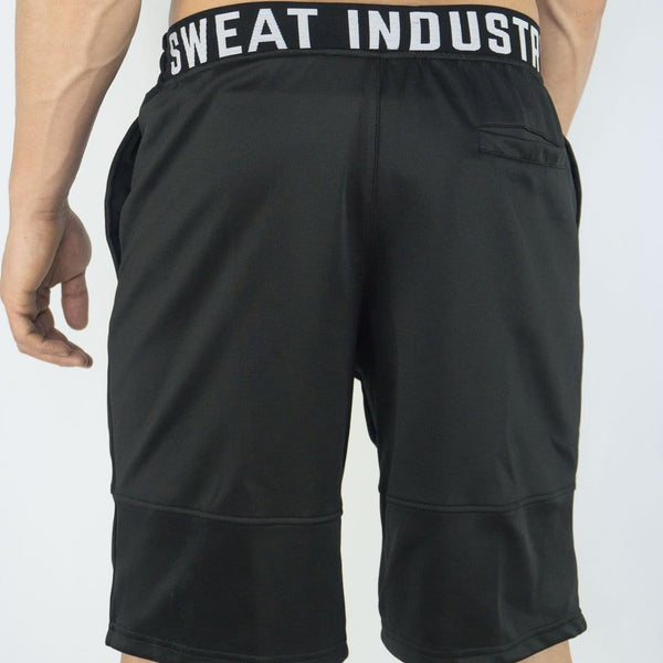 Cyclone Shorts - Sweat Industry Apparel Black Back