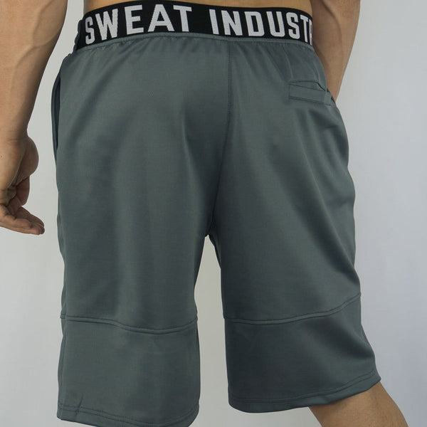 Cyclone Shorts - Sweat Industry Apparel Grey Back
