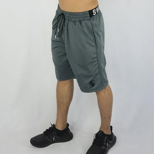 Cyclone Shorts - Sweat Industry Apparel Grey Front