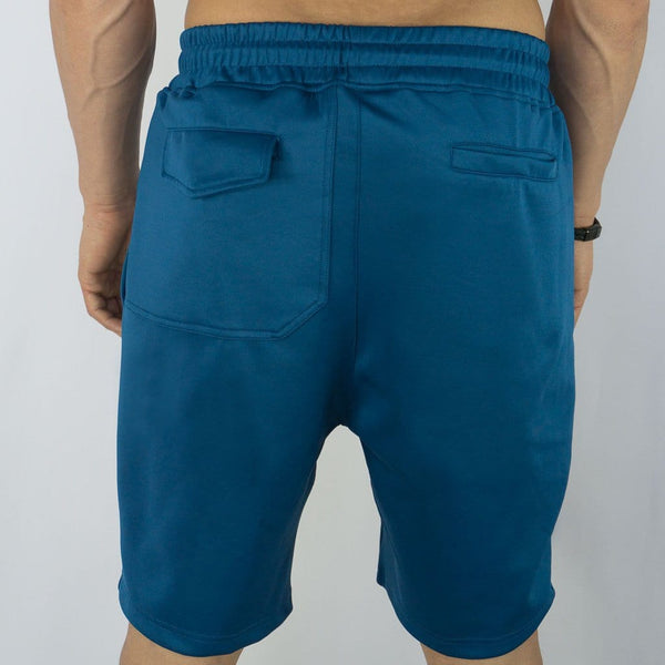 Training Shorts - Sweat Industry Apparel Olympic Blue Back