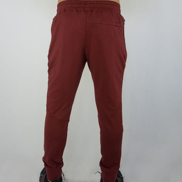 Aero Jogger - Sweat Industry Apparel Burgundy Back