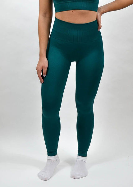 Seamless Flex Leggings- Sweat Industry Apparel Alpine Front