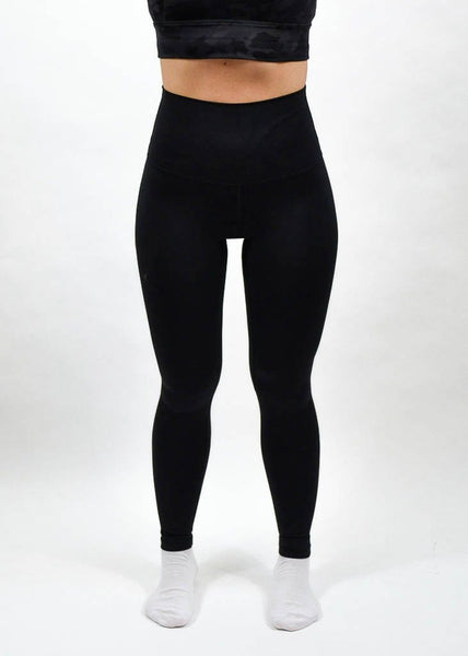 Elemental Leggings - Sweat Industry Apparel Black Front