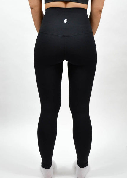 Elemental Leggings - Sweat Industry Apparel Black Back