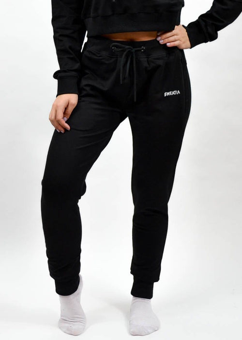 SI Jogger 2.0- Sweat Industry Apparel Black Front