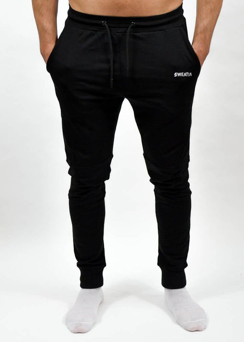 Apex Jogger - Sweat Industry Apparel Black Front