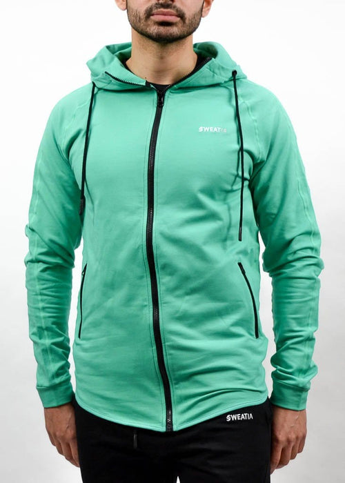Apex Hoodie - Sweat Industry Apparel Mint Front