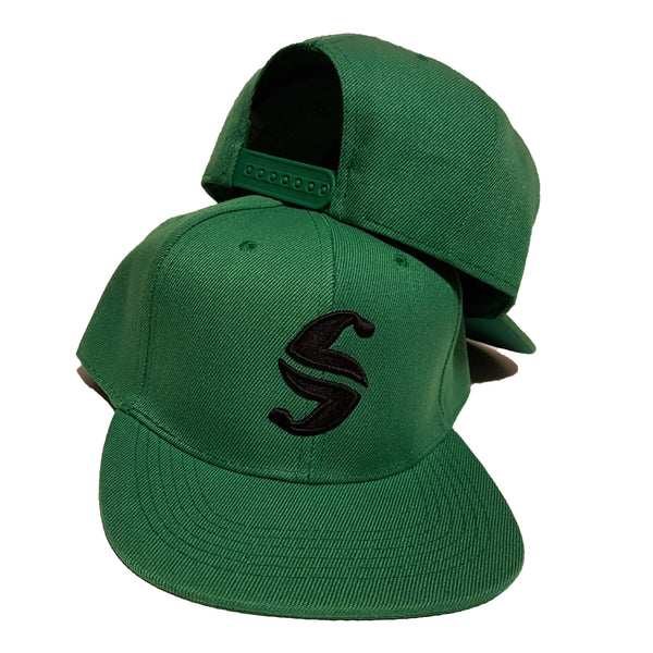 Classic Snap Back - Sweat Industry Apparel Green/Black Front
