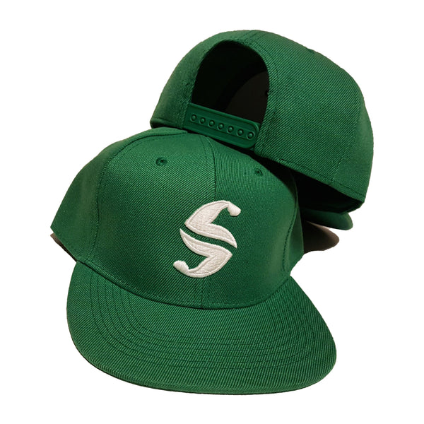 Classic Snap Back - Sweat Industry Apparel Green/|White Front