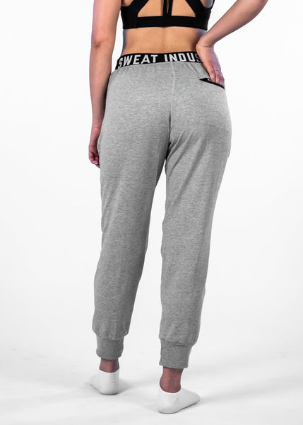 SI Jogger - Sweat Industry Apparel Grey Space Dye Back