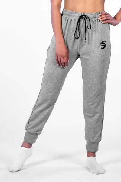 SI Jogger - Sweat Industry Apparel Grey Space Dye Front