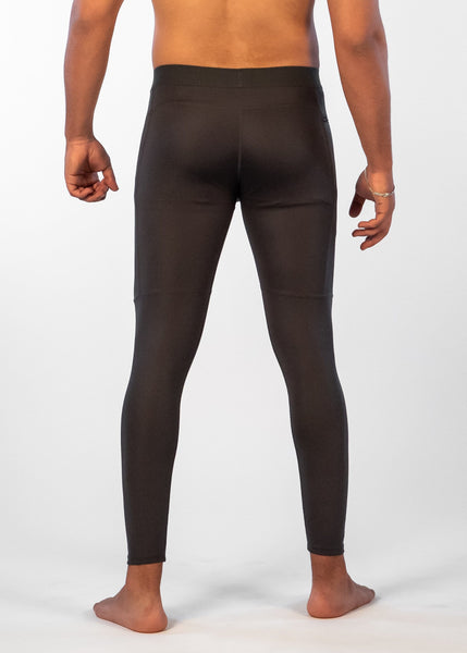 Men's Power Compression Pants - Sweat Industry Apparel Carbon Back