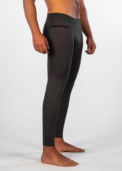 Men's Power Compression Pants - Sweat Industry Apparel Carbon Side