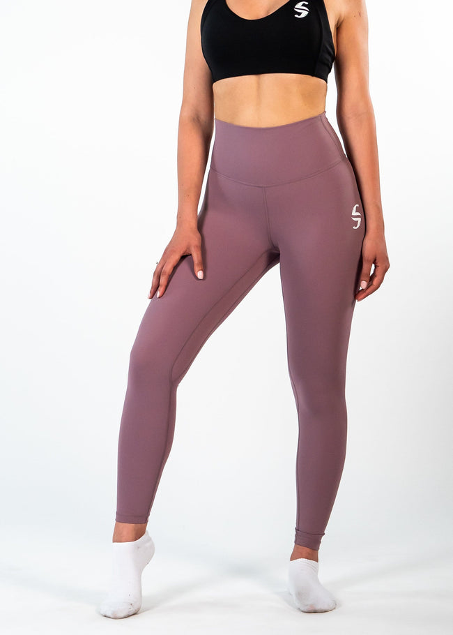 Ethereal 7/8 Leggings - Sweat Industry Apparel Punch Front