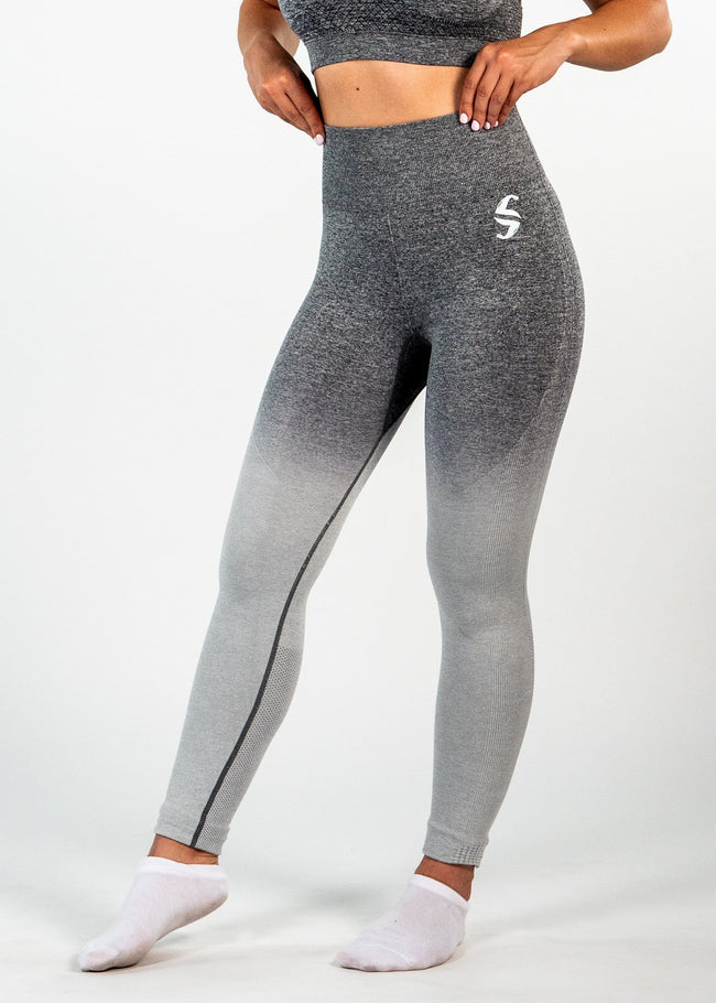 Eden Leggings - Gradient Grey
