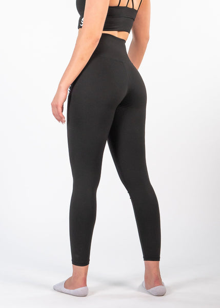 Essential Leggings - Sweat Industry Apparel Black Back