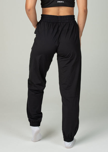 Hero Joggers - Sweat Industry Apparel Black Front