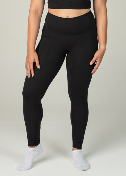 Ethereal 2.0 7/8 Leggings - Sweat Industry Apparel Black Front