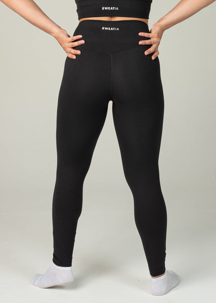Ethereal 2.0 7/8 Leggings - Sweat Industry Apparel Black Back