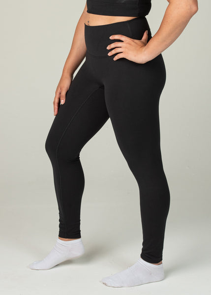 Ethereal 2.0 7/8 Leggings - Sweat Industry Apparel Black Side