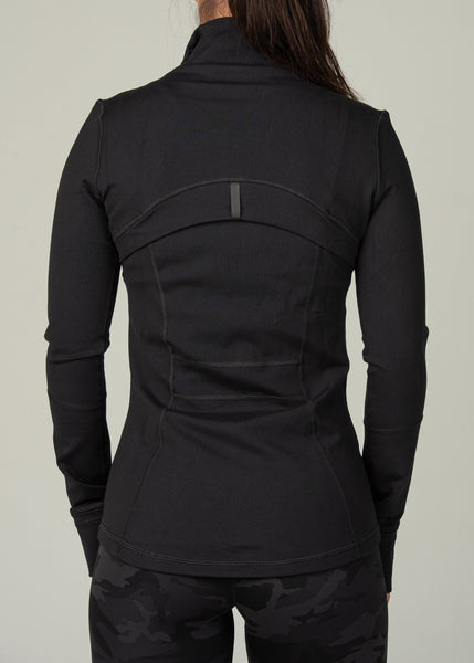 Effortless Jacket - Sweat Industry Apparel Black Back