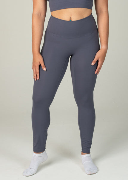 Ethereal 2.0 7/8 Leggings - Sweat Industry Apparel Dark Blue Front