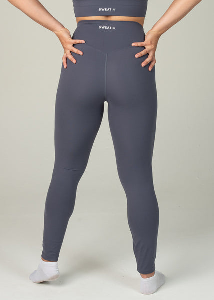 Ethereal 2.0 7/8 Leggings - Sweat Industry Apparel Dark Blue Back