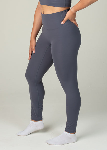 Ethereal 2.0 7/8 Leggings - Sweat Industry Apparel Dark Blue Side