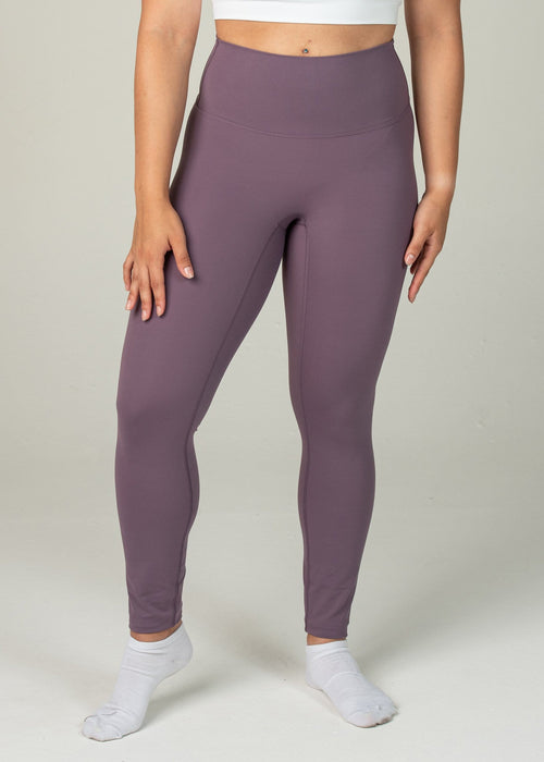 Ethereal 2.0 7/8 Leggings - Sweat Industry Apparel Grape Front