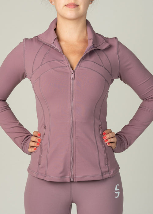 Sweatia Effortless Jacket-Punch-Front