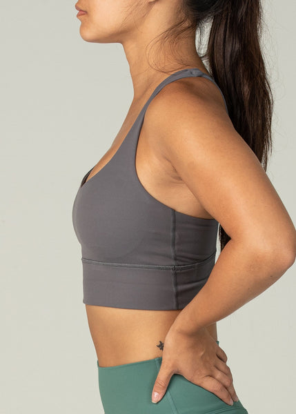 Ethereal Sports Bra - Sweat Industry Apparel Shadow Side