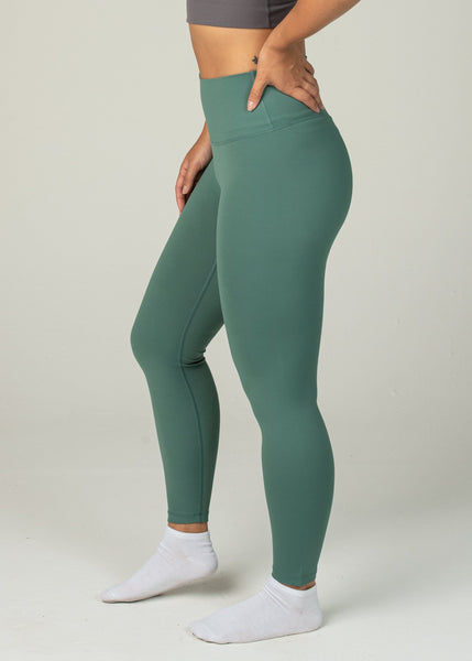 Ethereal 2.0 7/8 Leggings - Sweat Industry Apparel Pine Side