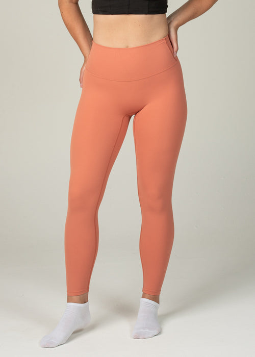 Ethereal 2.0 7/8 Leggings - Sweat Industry Apparel Sunrise Front