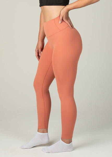 Ethereal 2.0 7/8 Leggings - Sweat Industry Apparel Sunrise Side