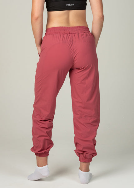 Hero Joggers - Sweat Industry Apparel Rose Back