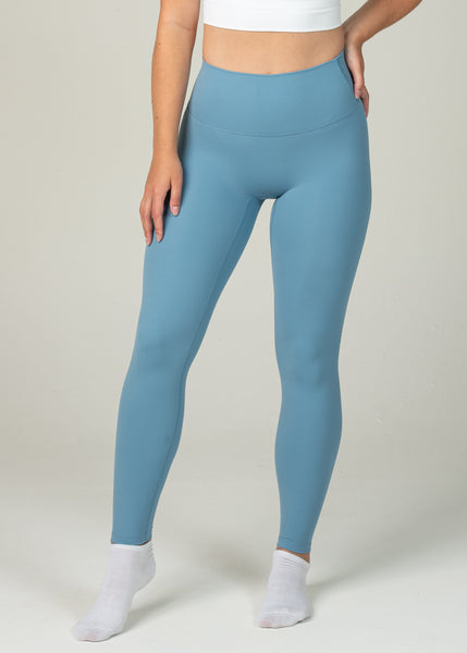 Ethereal 2.0 7/8 Leggings - Sweat Industry Apparel Pastel Blue Front