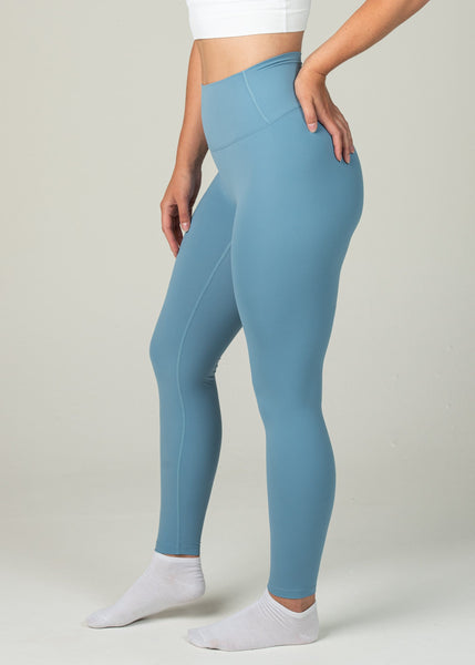 Ethereal 2.0 7/8 Leggings - Sweat Industry Apparel Pastel Blue Side