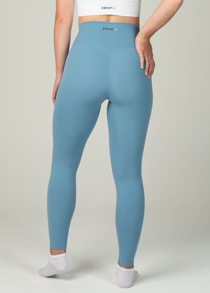 Ethereal 2.0 7/8 Leggings - Sweat Industry Apparel Pastel Blue Back