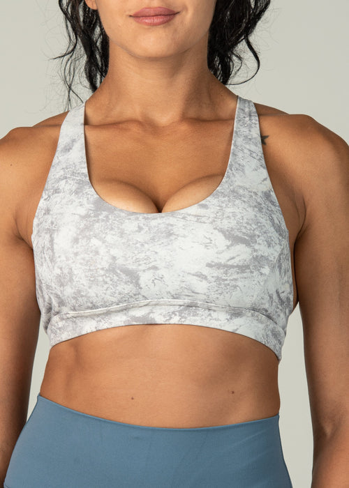 Champion Sports Bra - Sweat Industry Apparel Marble Front