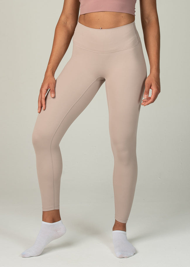 Ethereal 2.0 7/8 Leggings - Sweat Industry Apparel Nude Front
