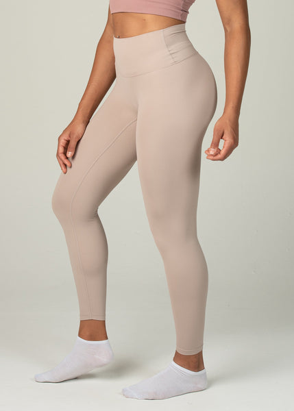 Ethereal 2.0 7/8 Leggings - Sweat Industry Apparel Nude Side