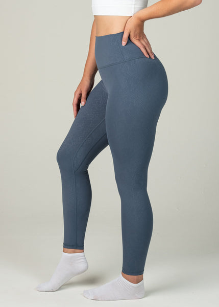 Prestige Leggings - Sweat Industry Apparel Blue Snake Side