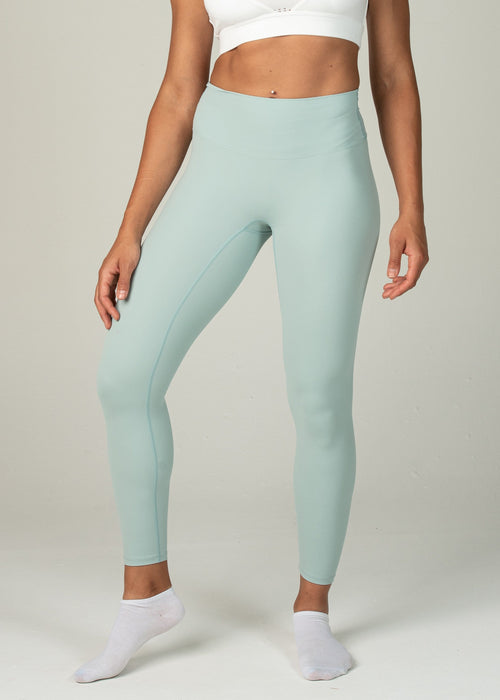 Ethereal 2.0 7/8 Leggings - Sweat Industry Apparel Pastel Green Front