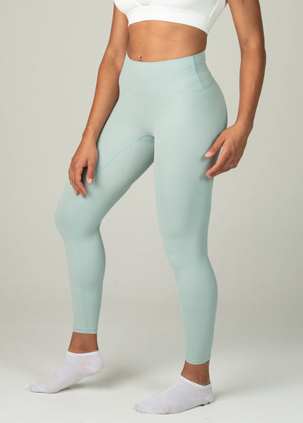 Ethereal 2.0 7/8 Leggings - Sweat Industry ApparelPastel Green Side