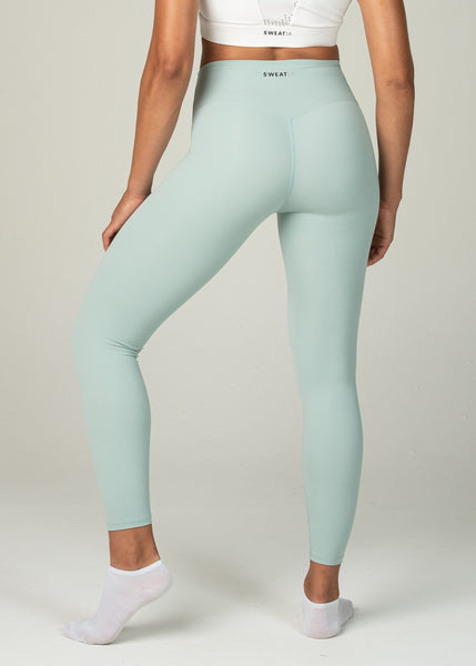 Ethereal 2.0 7/8 Leggings - Sweat Industry Apparel Pastel Green Back